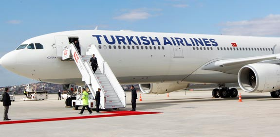 Turkish Airlines plane  Picture: Reuters